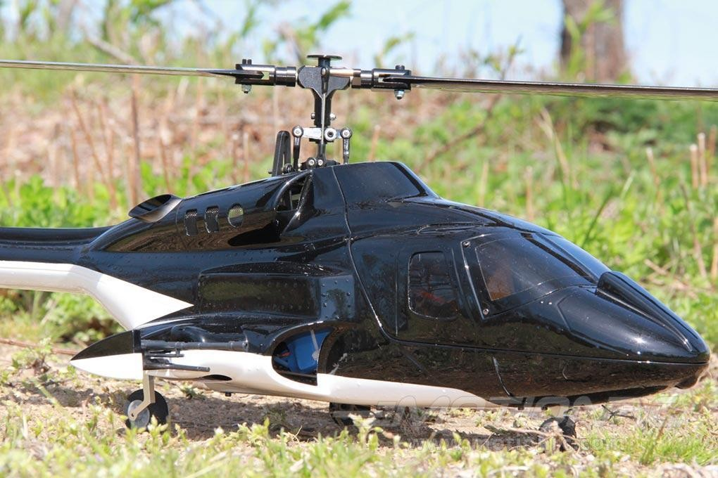 Official RotorScale B222 Shadow Black 450 Size Helicopter
