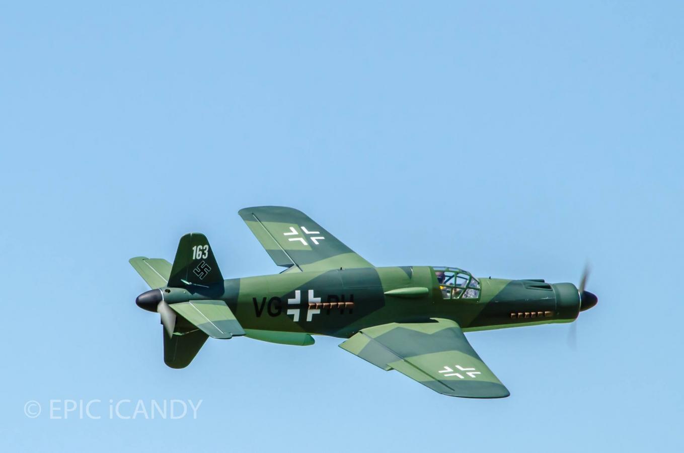 Black Horse Dornier Do-335 - Hobby Squawk - RC Airplane and