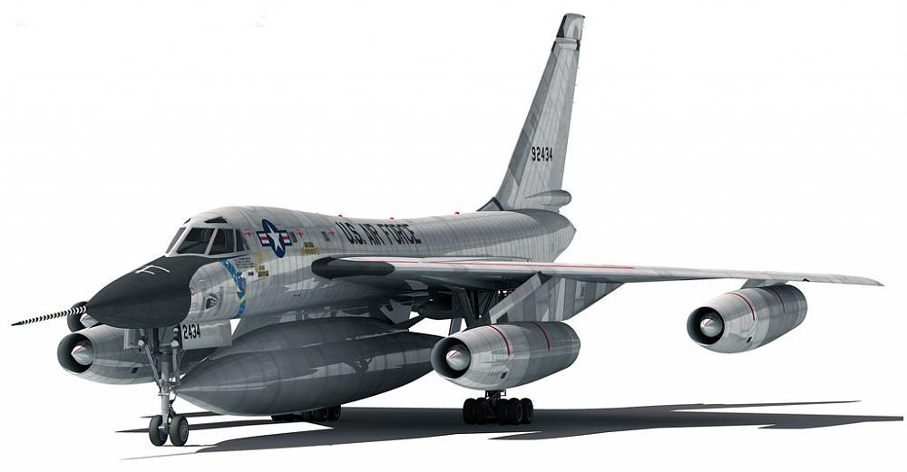 RC B-58 Hustler Up Date - YouTube