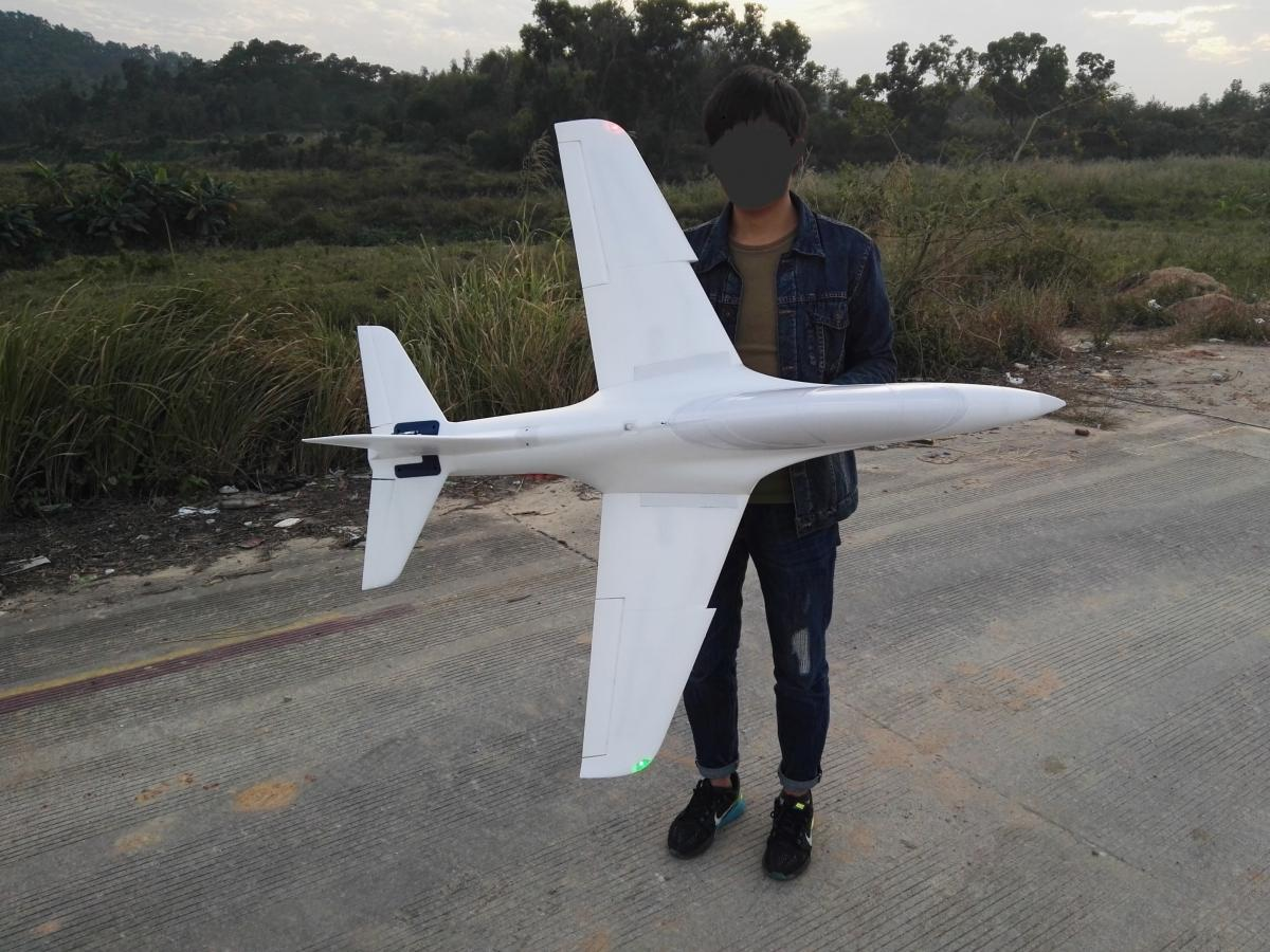 90mm size and light wingloading