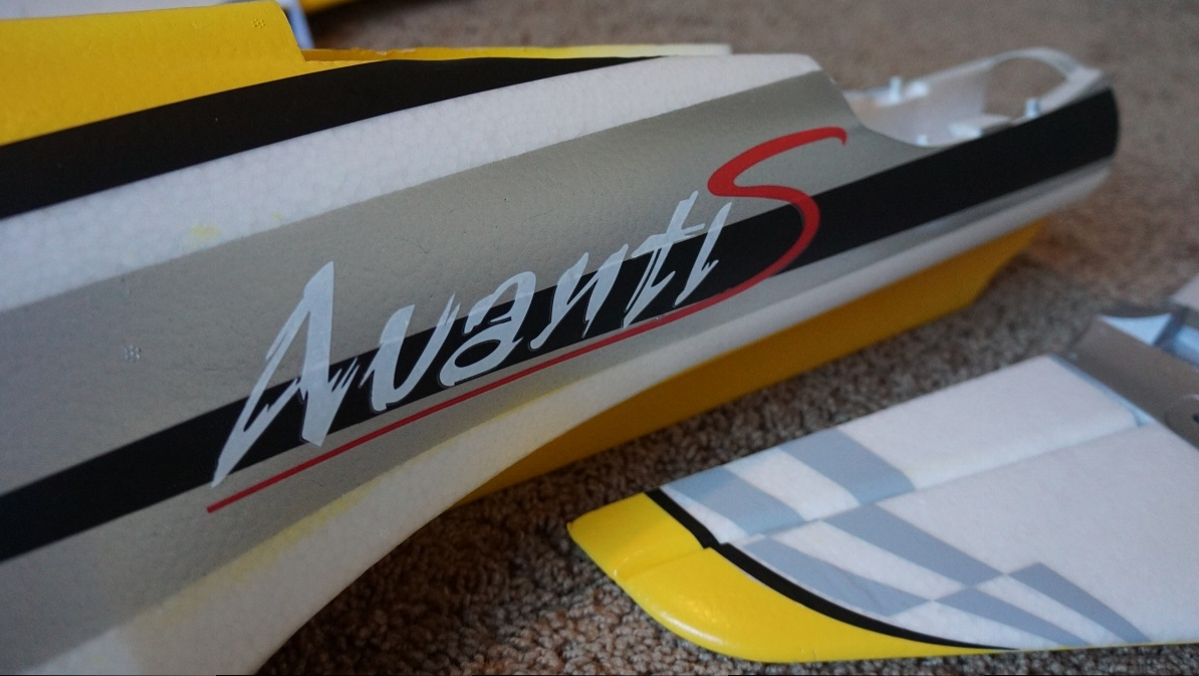 The only officially licensed foam electric Sebart Avanti S
