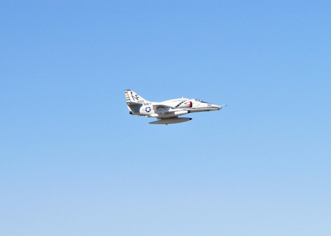 Freewing 80mm A-4 Skyhawk  Photo by Pilot Evelyn