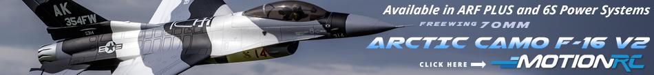 Arctic Camo F-16 V2 70mm