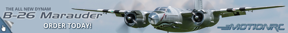All New Dynam B-26 Marauder - Pre-Order Today!