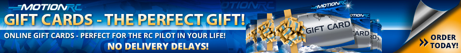 Motion RC Gift Cards - The Perfect Gift!
