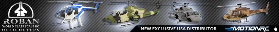 Roban - World Class Scale Helicopters