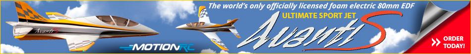 Avanti S - The Ultimate 80mm EDF Sport Jet!
